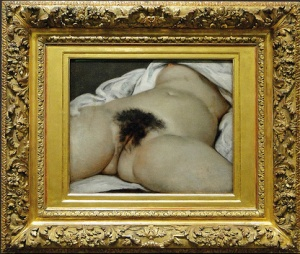 The Origin of the World by Gustav Courbet